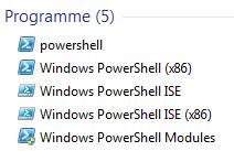 PowerShell unter Windows Server 2008